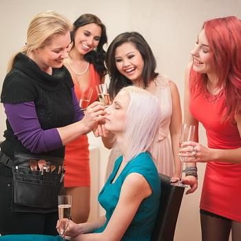 Mädelsabend, Junggesellinnenabschied, Make-Up Party, Wellnessabend, Christine Raab