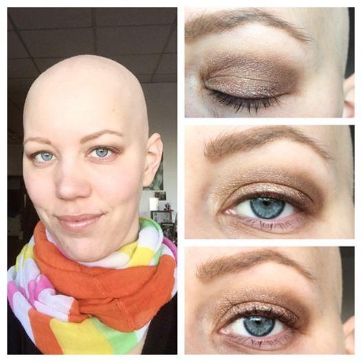 Augen schminken Lidschatten Christine Raab