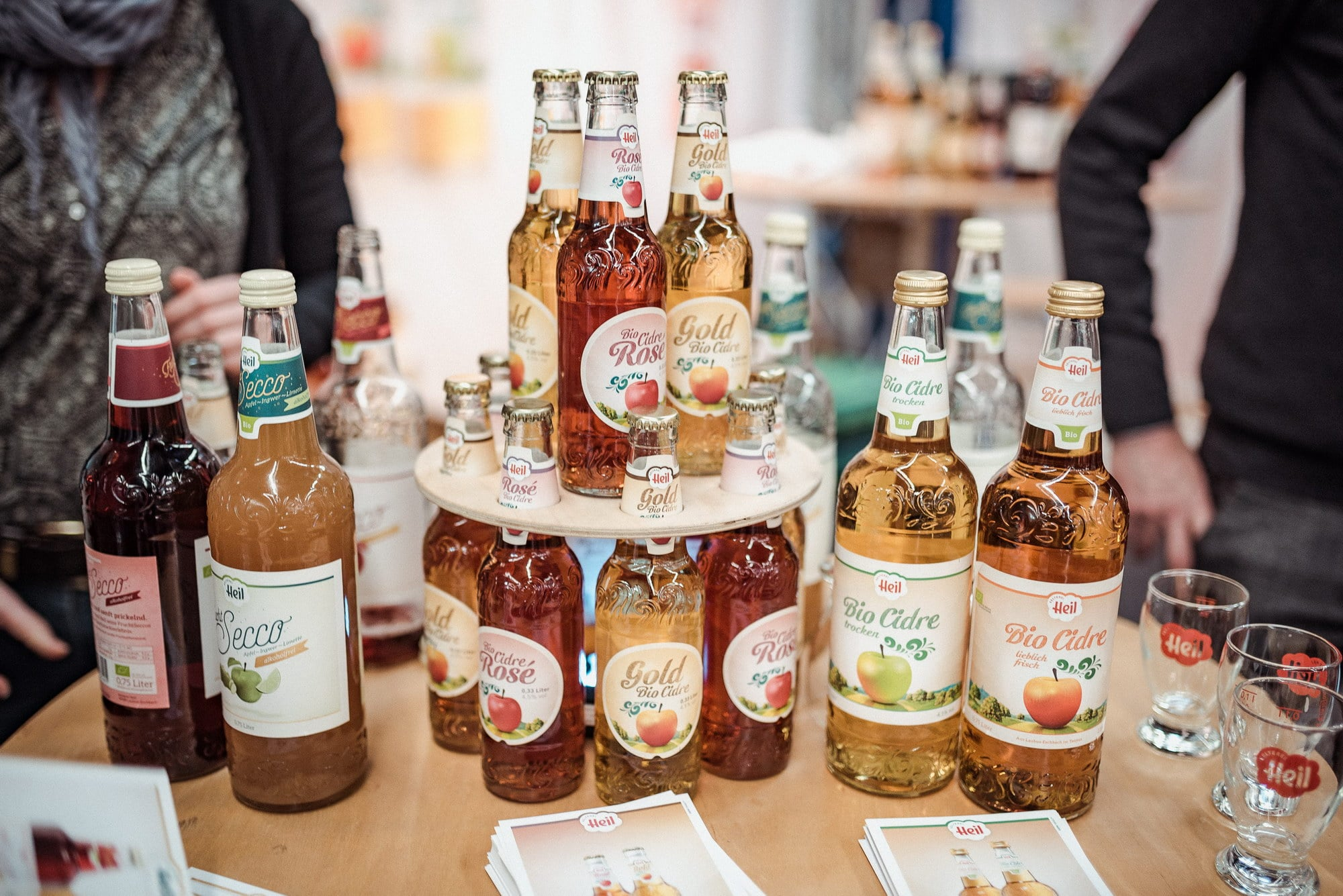 Biogetränke Cidre