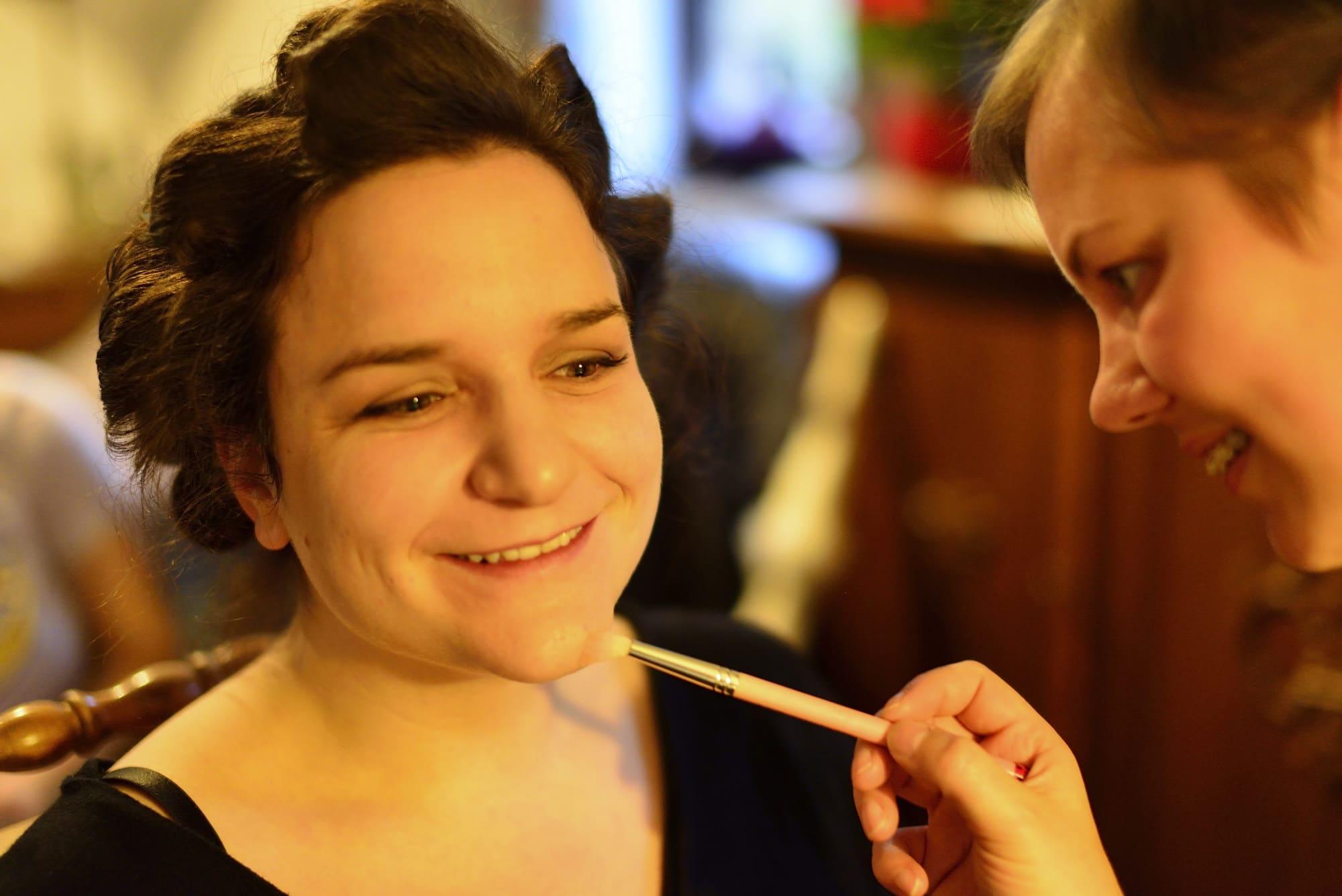 Brautstyling Pinsel Christine Raab