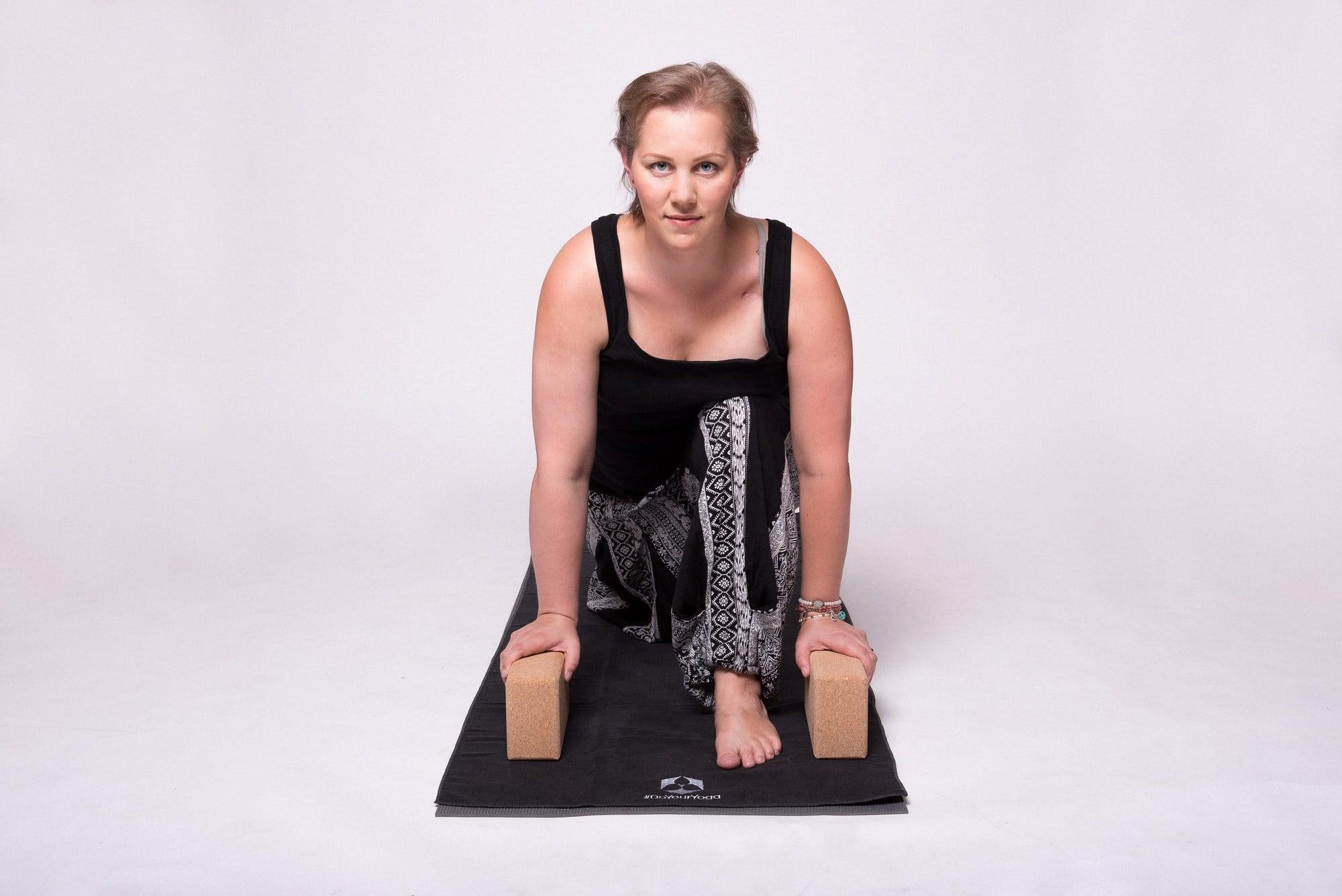 Yogaklötze Christine Raab Yogamatte