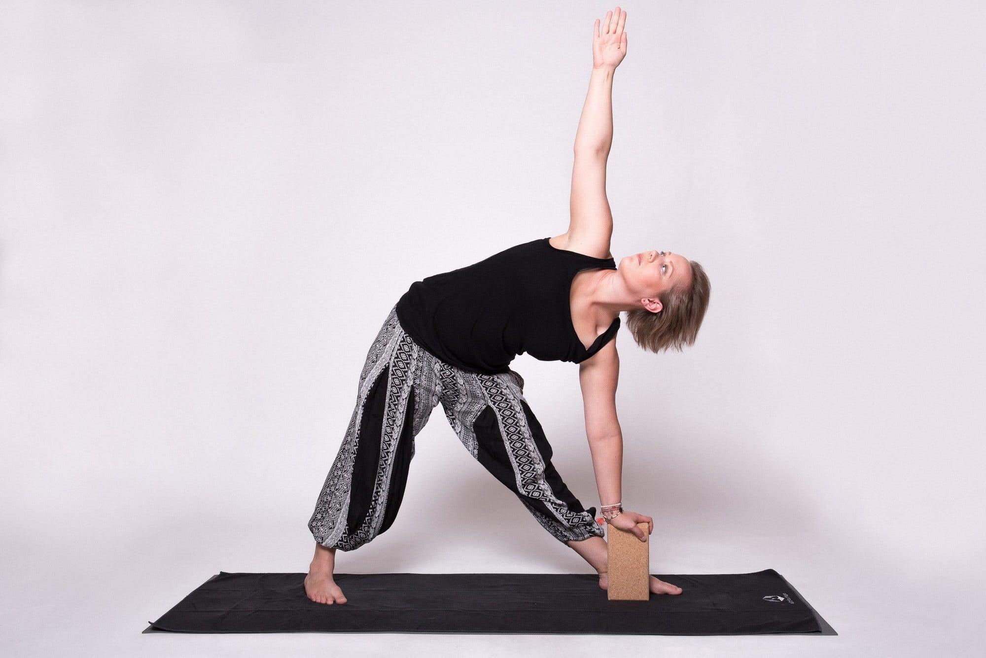 Christine Raab Yogamatte Hilsmittel