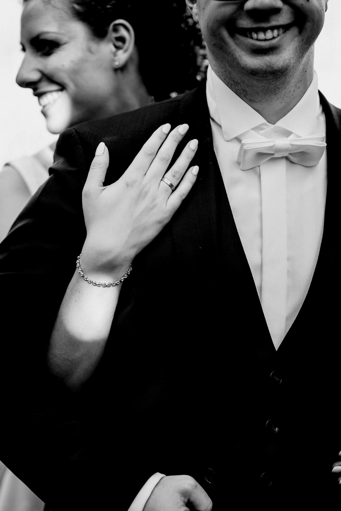 Ehering Armkette Hand Braut Bräutigam