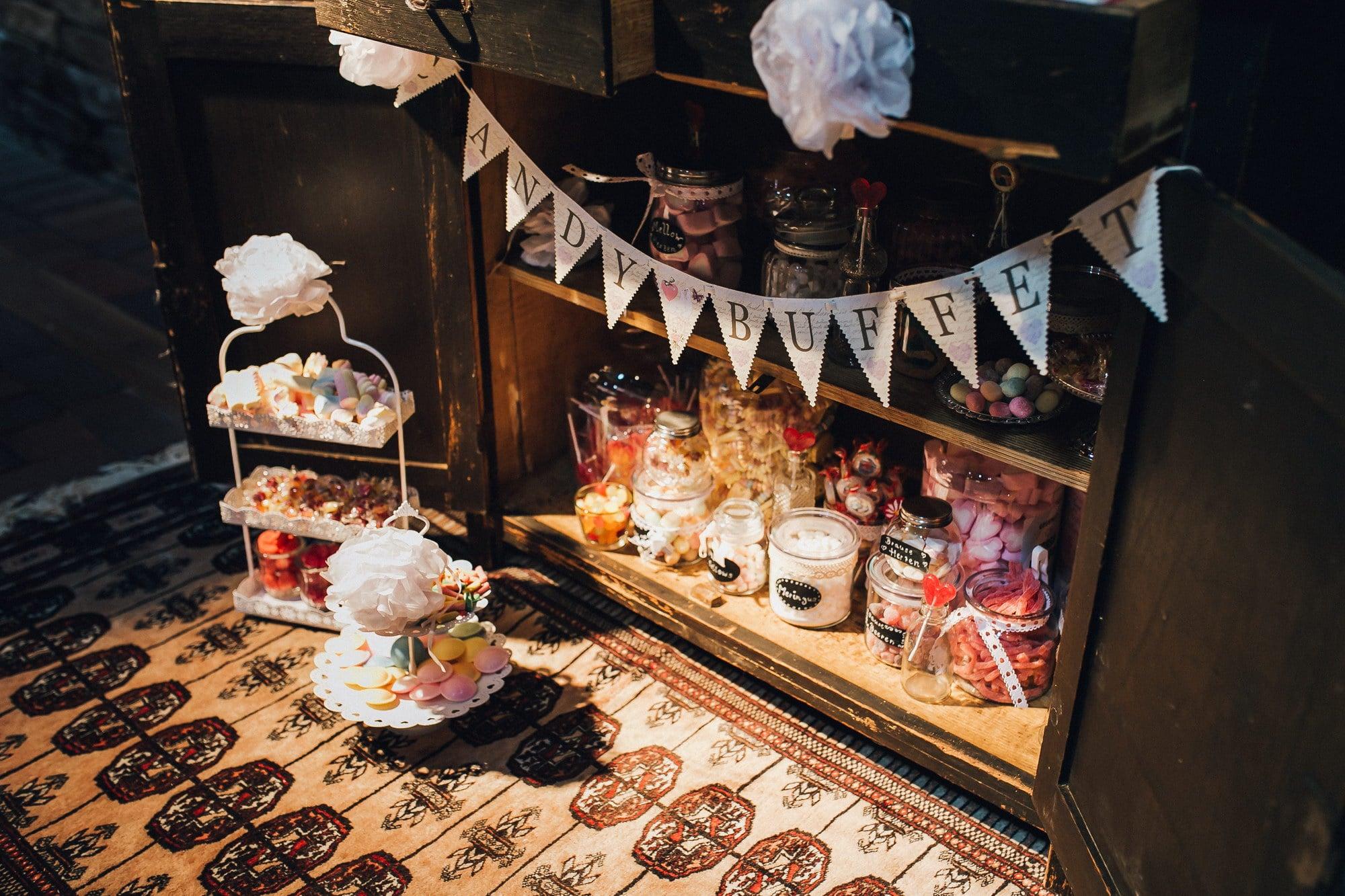 Candy Buffet regal Gläser