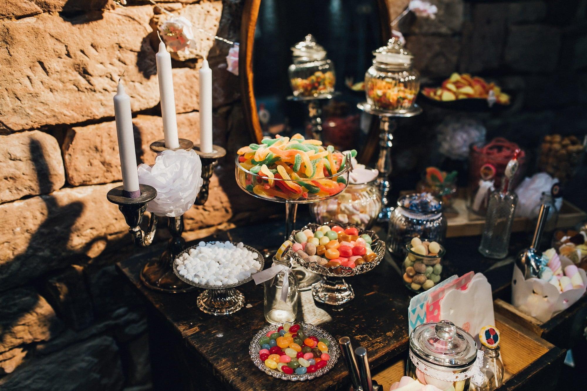 Hochzeit Candybar Naschwerk