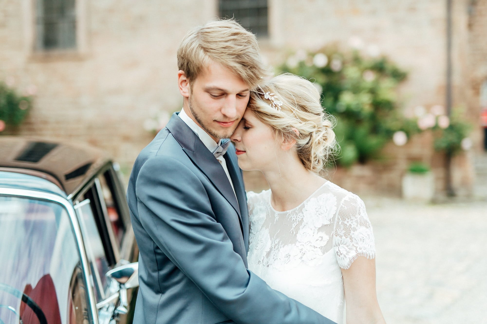 Hochzeitsfrisur Dutt