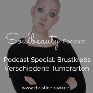 Brustkrebs Special: Die verschiedenen Tumorarten. Christine Raab