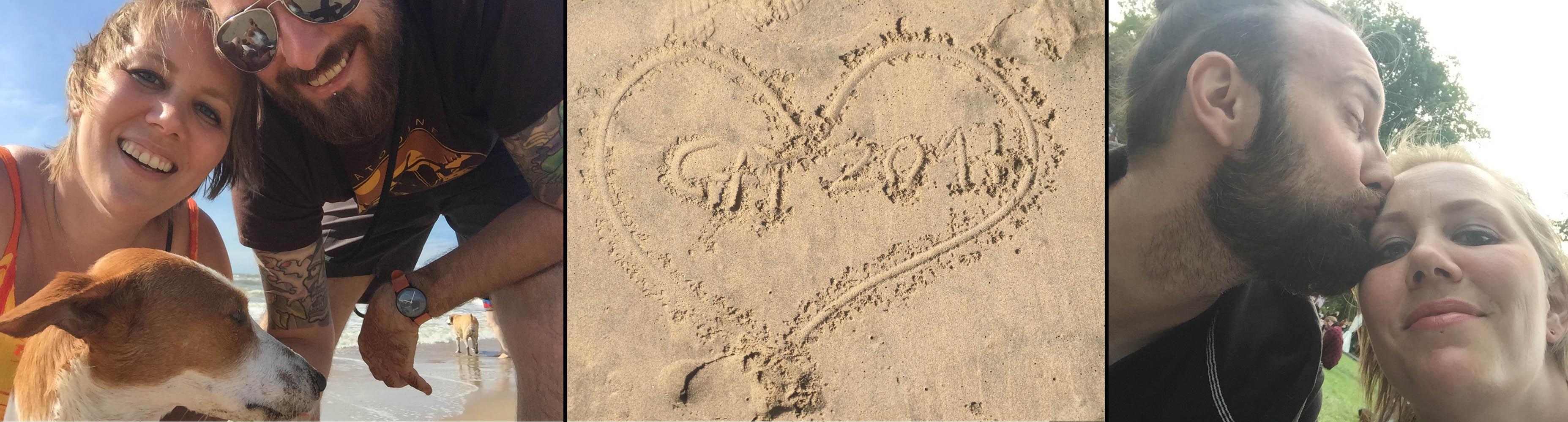 Lieblingsmensch, Zeit für uns, Couplegoals, Urlaub, Strand, Meer, Familie