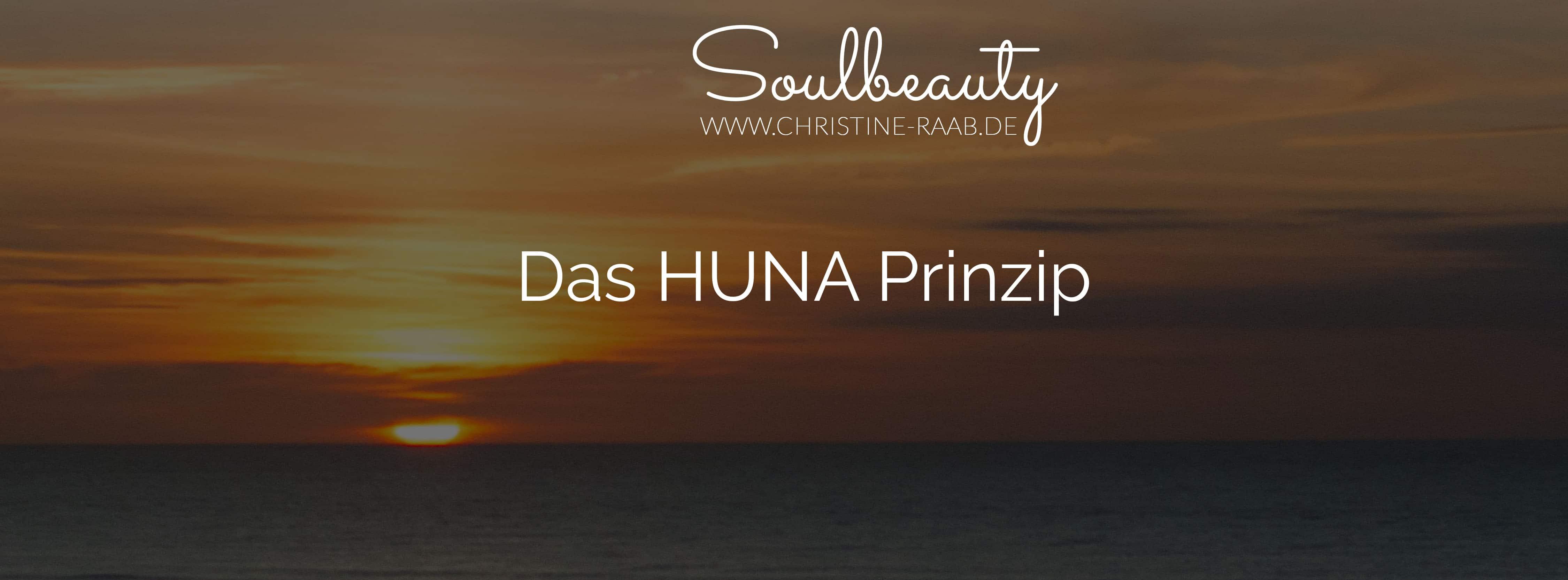 Huna Prinzip Soulbeauty Meer Sonnenuntergang