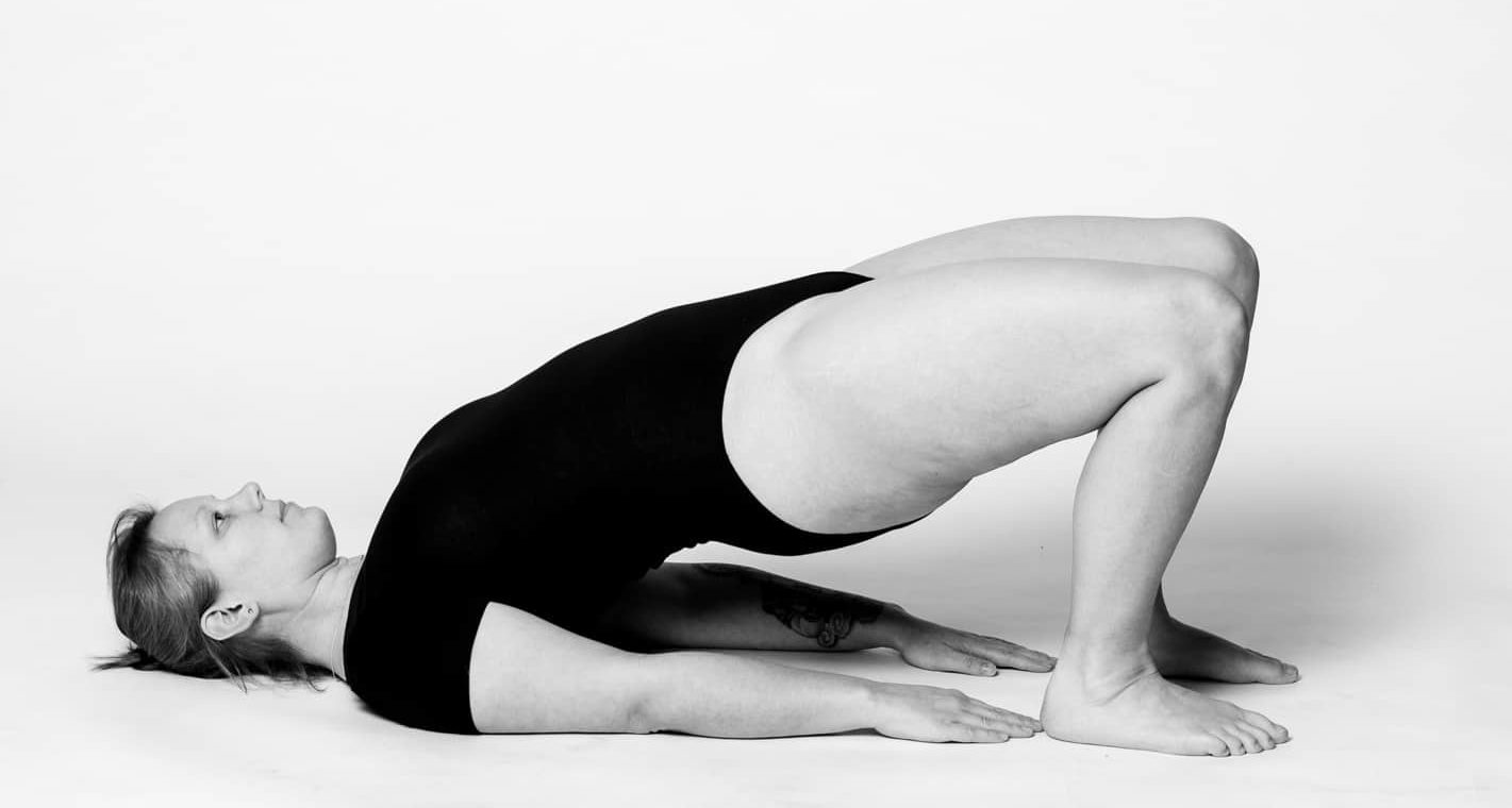 Yoga Christine Raab Schulterbrücke