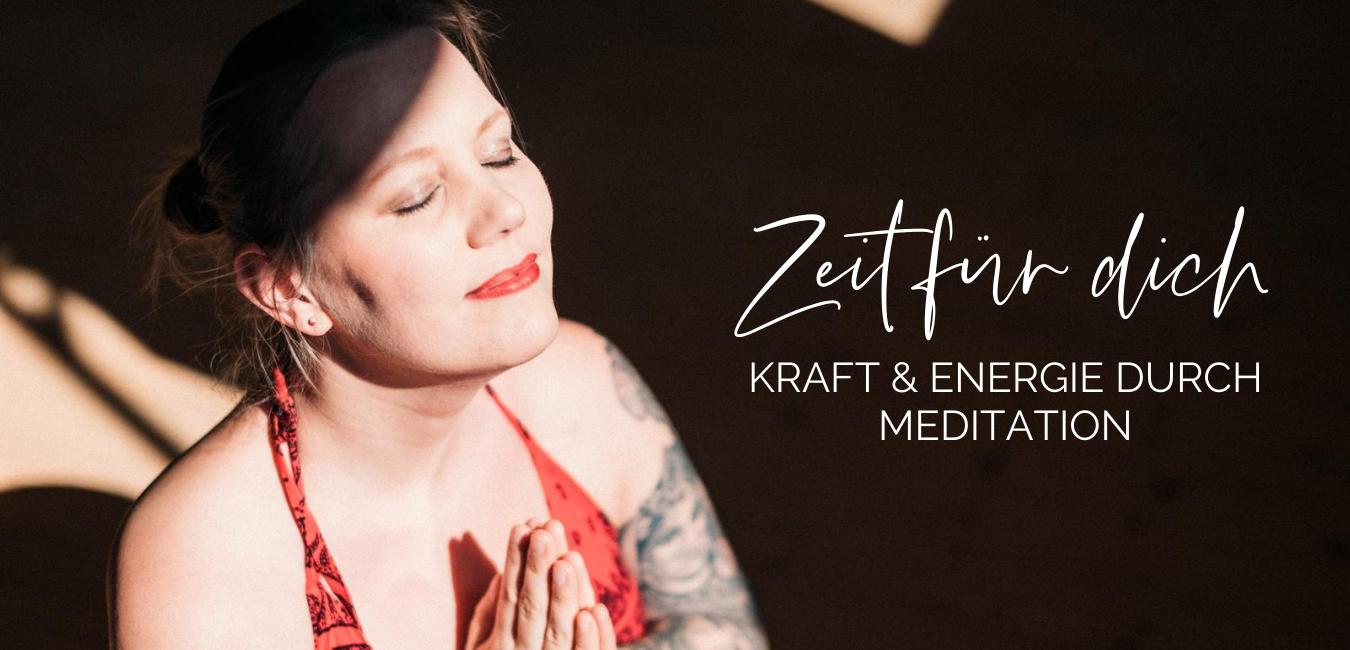 Zeit für dich Meditationskurs Onlinekurs