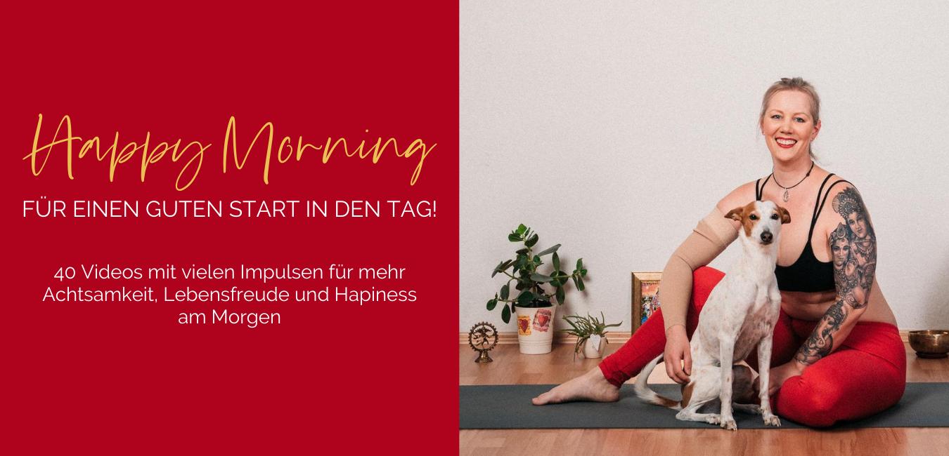 Happy Morning tägliche Auszeit Onlinekurs
